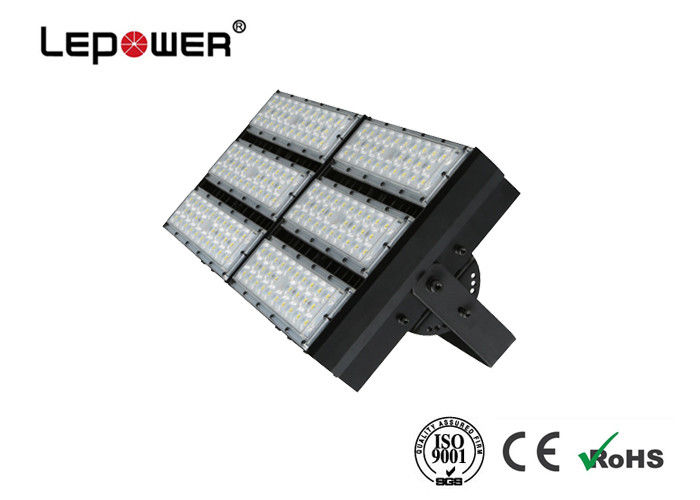 LED Sport Lighting 300W High LEDs with MW driver IP67 25/40 degree Lens Black Color Customized Design with 5 years